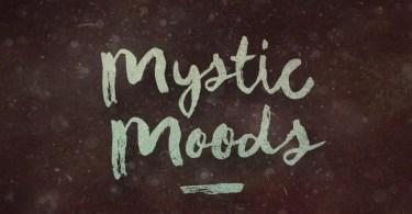 Mystic Moods [1 Font] | The Fonts Master