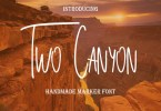 Two Canyon [1 Font] | The Fonts Master