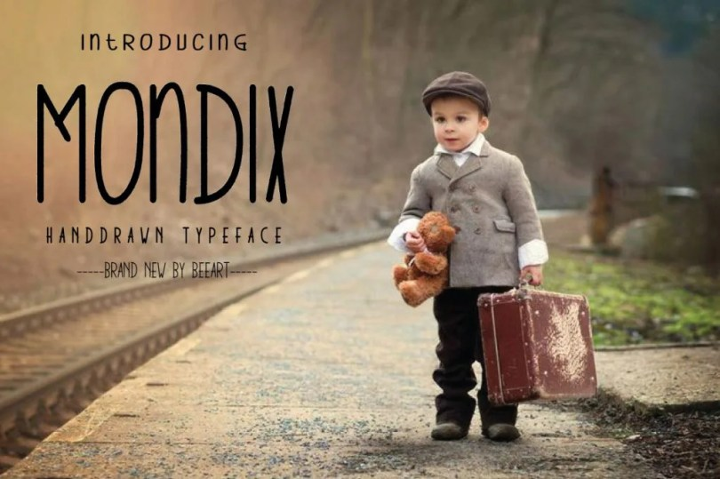 Mondix [1 Font] | The Fonts Master