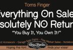 Toms Finger [3 Fonts] | The Fonts Master