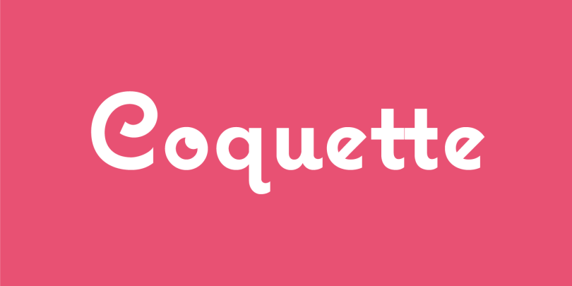 Coquette [3 Fonts] | The Fonts Master