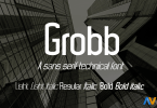 Grobb [5 Fonts] | The Fonts Master