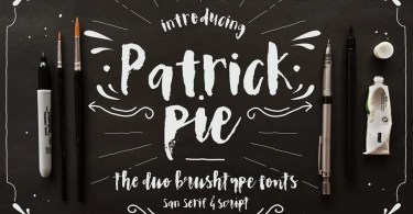 Patrick Pie [2 Fonts] | The Fonts Master