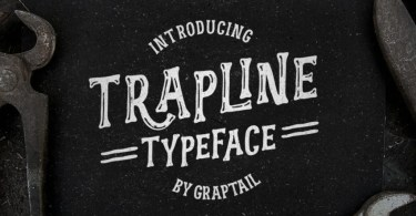 Trapline [4 Fonts]   The Fonts Master