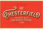 Chesterfield [3 Fonts + Extras] | The Fonts Master