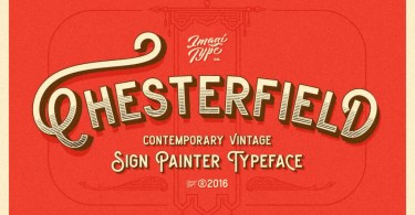 Chesterfield [3 Fonts + Extras]   The Fonts Master