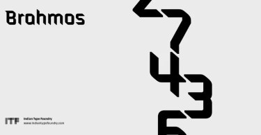 Brahmos [5 Fonts] | The Fonts Master