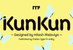 Kunkun [3 Fonts] | The Fonts Master