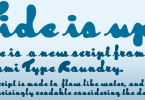 Tide [1 Font] | The Fonts Master