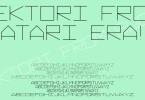 Vektori [8 Fonts]   The Fonts Master