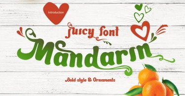 Mandarin [2 Fonts] | The Fonts Master
