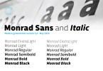 Monrad [12 Fonts] | The Fonts Master