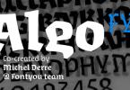 Algo Fy [3 Fonts] | The Fonts Master