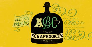 Scrapbooker [6 Fonts] | The Fonts Master