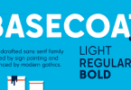 Basecoat [3 Fonts] | The Fonts Master
