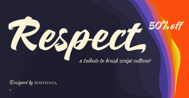 Respect [10 Fonts] | The Fonts Master