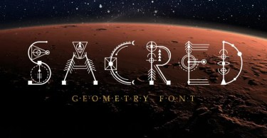 Sacred Geometry [1 Font] | The Fonts Master