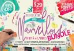 Marvellous Font Bundle [30 Fonts] | The Fonts Master