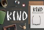 Kind [1 Font] | The Fonts Master