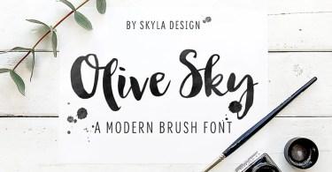 Olive Sky [1 Font]