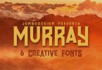 Murray [6 Fonts] | The Fonts Master