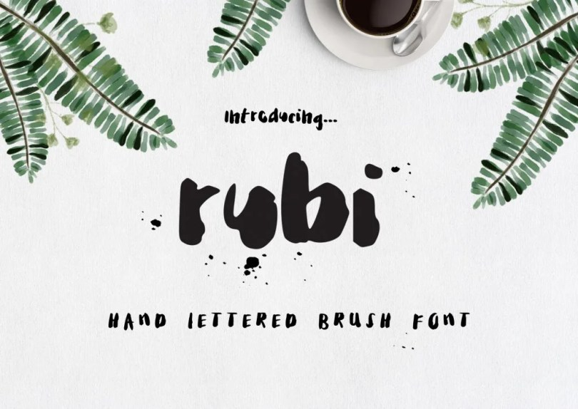 Rubi [2 Fonts] | The Fonts Master