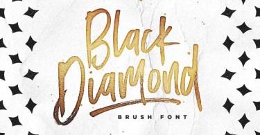 Black Diamond [1 Font] | The Fonts Master
