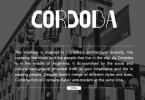 Cordoba [1 Font] | The Fonts Master