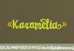 Karamelia [1 Font] | The Fonts Master