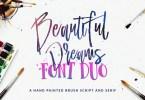 Beautiful Dreams [2 Fonts] | The Fonts Master