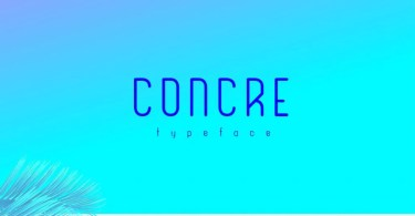 Concre [1 Font] | The Fonts Master