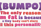 Bumpo [3 Fonts] | The Fonts Master