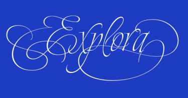 Explora [2 Fonts] | The Fonts Master