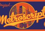 Metroscript [5 Fonts] | The Fonts Master