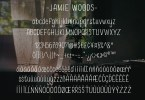 Jamie Woods [1 Font] | The Fonts Master