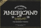 Americano [1 Font + Extras] | The Fonts Master