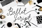 Ballet Script [5 Fonts] | The Fonts Master