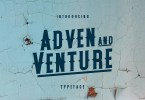 Adven And Venture [6 Fonts] | The Fonts Master