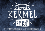Kermel Serif [2 Fonts] | The Fonts Master