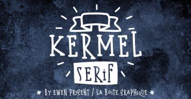Kermel Serif [2 Fonts]   The Fonts Master