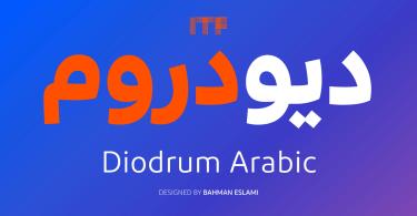 Diodrum Arabic [6 Fonts] | The Fonts Master