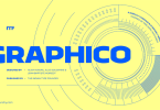 Graphico [6 Fonts]   The Fonts Master