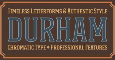 Durham Latin [3 Fonts] | The Fonts Master