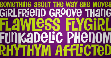 Flawless Flygirl Pb [1 Font]   The Fonts Master