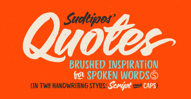 Quotes [2 Fonts] | The Fonts Master