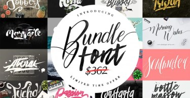 Maulana Font Bundle &Amp; Graphic [38 Fonts + Extras] | The Fonts Master