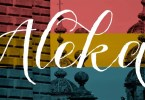 Aleka [1 Font] | The Fonts Master
