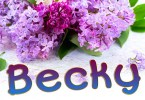 Becky Regular [1 Font] | The Fonts Master