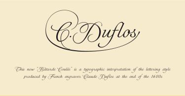 Cduflos [2 Fonts] | The Fonts Master
