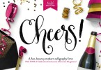 Cheers &Amp; Graphics Pack [1 Font + Extras] | The Fonts Master
